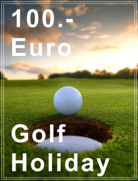 Golf Holiday Money Voucher